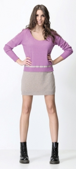 #1088 - Платье двухцветное - Vanise